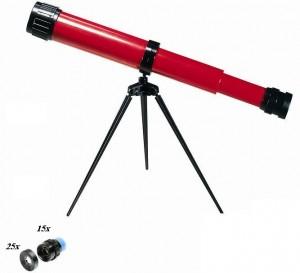 טלסקופ עם חצובה